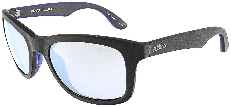 6f6e519848c5 Amazon.com: Revo Huddie Polarized Square Sunglasses, Black Graphite, 54 mm:  Clothing