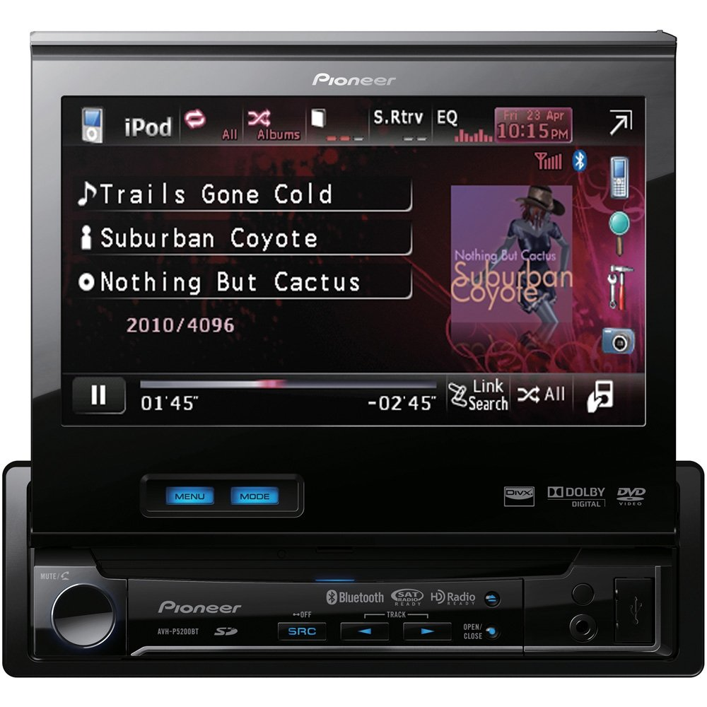 61kBC02nT6L._SL1000_ amazon com pioneer avh p5200bt in dash dvd multimedia av receiver pioneer avh-p5200bt wiring diagram at gsmportal.co