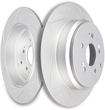 ECCPP 2pcs Front Brake Discs Rotors Brakes Kits fit for 2005 2006 2007 2008 2009 2010 Honda Odyssey Brake Rotors