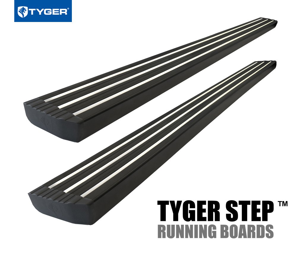 Tyger Auto TG-ST2D50058 Step for 2009-2018 Ram 1500 Quad Cab (4.75' Wide & 76' Long | Running Boards | Side Step Rails | Nerf Bars) 2010 2011 2012 2013 2014 2015 2016 2017 2018
