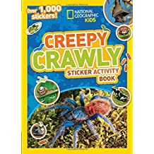 National Geographic Kids Creepy Crawly Sticker Activity Book: Over 1,000 Stickers! (NG Sticker Activity Books)