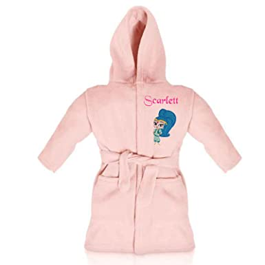 aa6e2be9 Oh Sew Simple Shine The Genie (Shimmer & Shine) Personalised Super Soft Fleece  Dressing