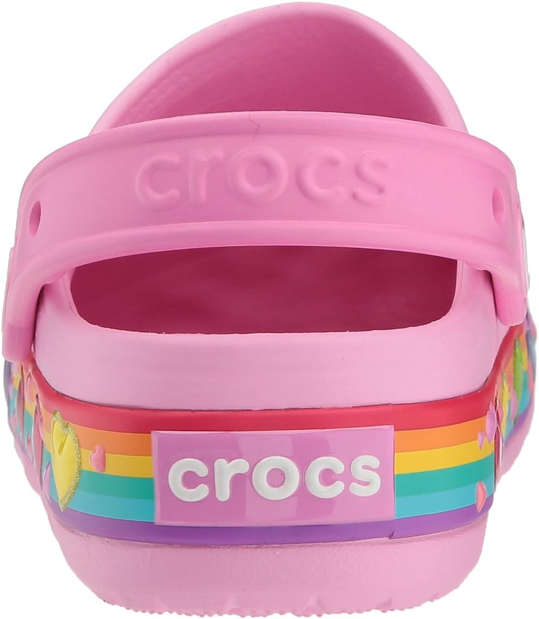Crocs Crocband Fun Lab Lights Clog Kids Sabots Mixte Enfant