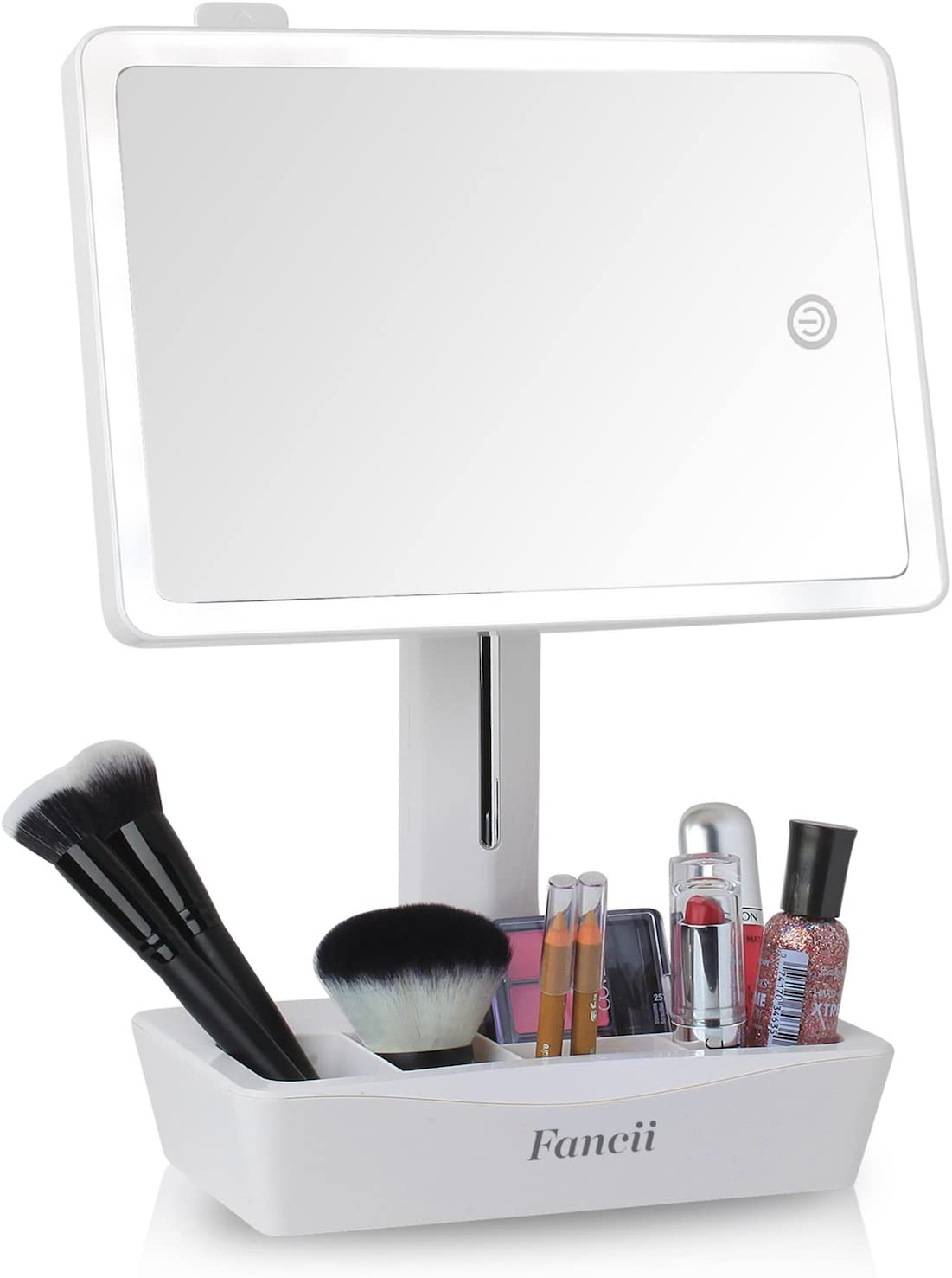 Led Vanity Makeup Mirror With 10x Magnifying Mirror With