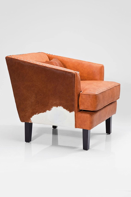 sessel fell texas brown vintage rodeo fellsessel kuhfell. Black Bedroom Furniture Sets. Home Design Ideas