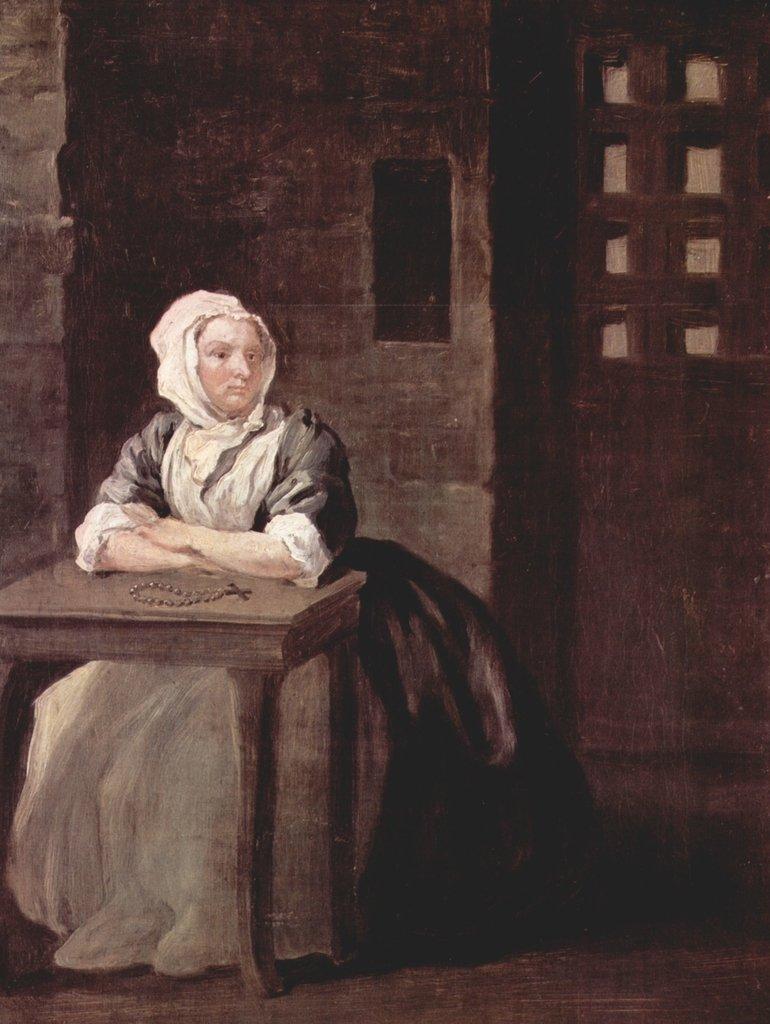 Lais Puzzle William Hogarth - Porträt der Sarah Macholm im im im Gefängnis 2000 Teile 02bf96