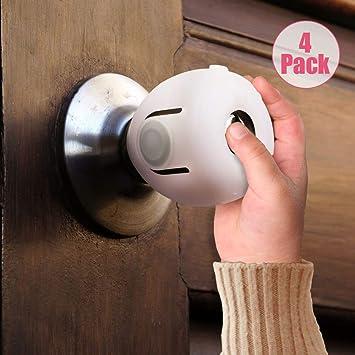 Amazon.com: Eudemon - Pomo de seguridad para puerta de bebé ...
