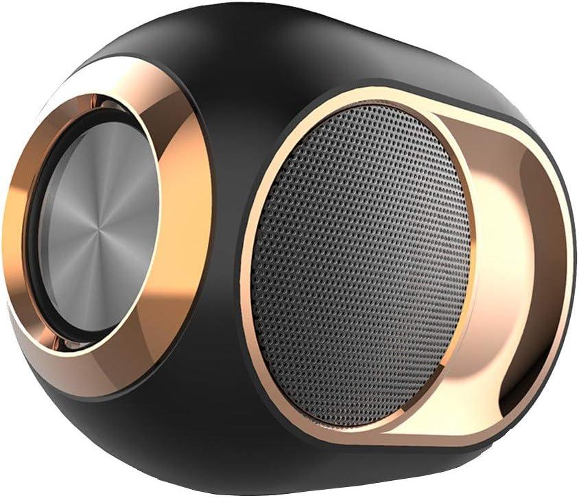 Bass Egg Wireless Bluetooth Speaker,Portable Outdoor Wireless Bluetooth Speaker Waterproof,High-End Wireless Speaker-108Db (Black)