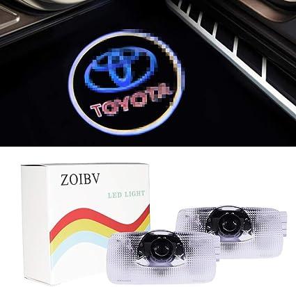 SUNKISSED 2 Bombillas LED para Puerta de Coche Toyota con Emblema ...