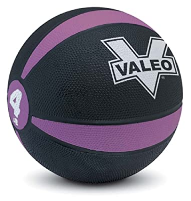 side facing valeo 4 lb medicine ball