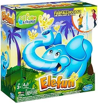 Hasbro Gaming-B7714103 Elefun Versione 2018 Gioco in Scatola B7714103