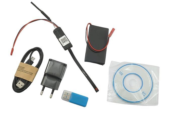 micrófono oculto WiFi HD espía oculta cámara P2P cámara Micro oculta Antena 720P
