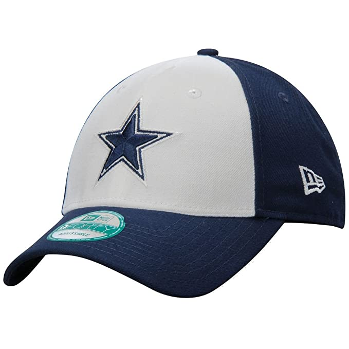 ac7f945c5 Amazon.com   Dallas Cowboys New Era 9FORTY The League Blocked Adjustable  Hat   Cap   Sports   Outdoors