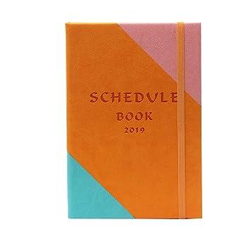 NTCY Cuaderno La Agenda Para 2019 Programada Para Esta ...