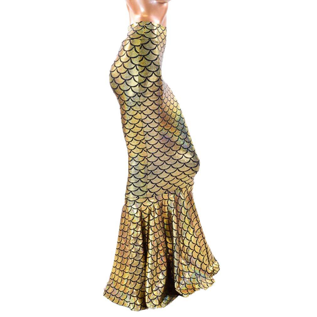 JiXuan Femmes Sexy Costume De Sirène Robe Halloween Cosplay Fantaisie Queue  Jupe Fantaisie Partie Maxi Robe Queue Jupe  Amazon.fr  Vêtements et  accessoires 8452f668668