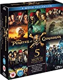 Buy Pirates of the Caribbean: 5-Movie Complete Collection [Blu-ray] [Region Free] [UK Import]