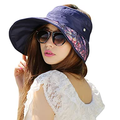 138db97a790 Korean Ladies Sun Hat UV Protection Summer Lace Hat Hollow Top Hat UPF 50+  Beach