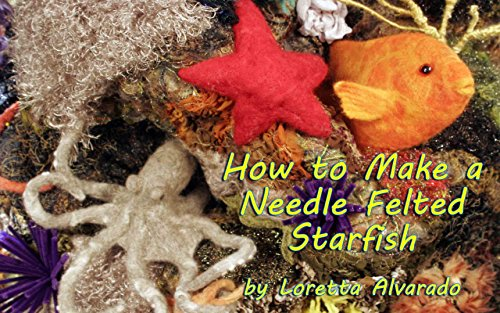 How to Make a Needle Felted Starfish