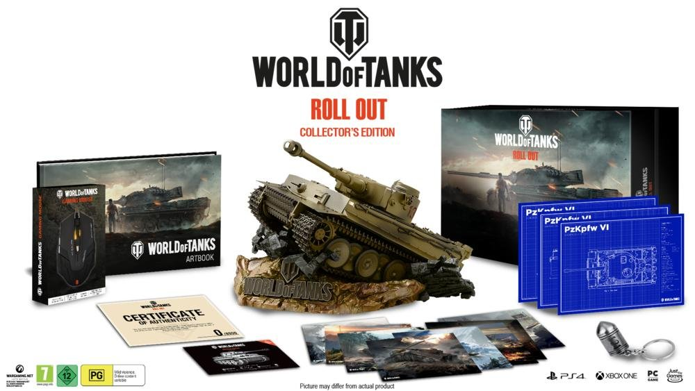 World of Tanks Collector's Edition (Game Not Included) by Excalibur Games (Image #2)