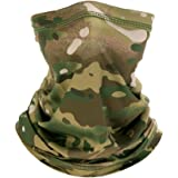 Face Scarfs Neck Gaiter Lightweight Breathable Camouflage Multifunctional Bandana Scarf Sun UV Protection Breathable Headbands for Motorcycles,Fishing,Hiking,Running,Skiing,Cycling,etc