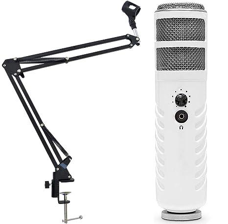 Rode Podcaster USB Micrófono Keepdrum 5-nb35 Micrófono trípode ...