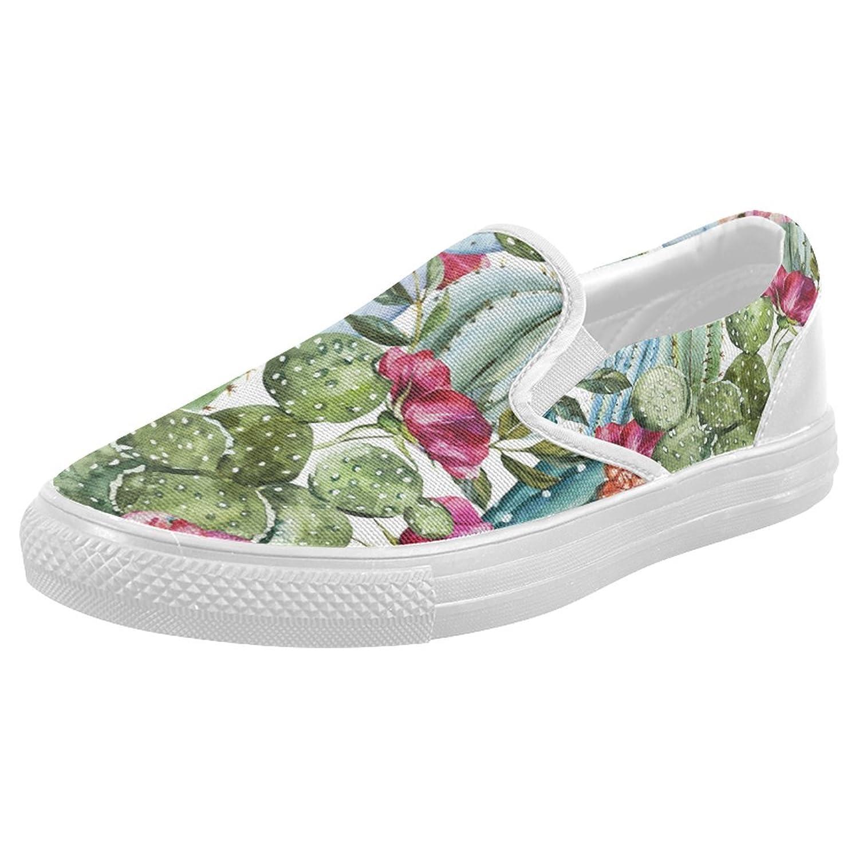 5b73b60654b9cd 70%OFF InterestPrint Hawaiian Floral Casual Slip-on Canvas Women s Fashion  Sneakers Shoes