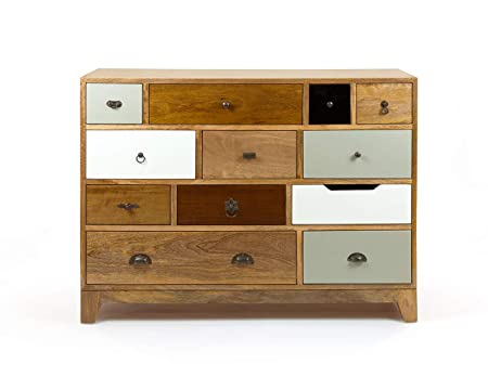 The Attic Contra Chest of Drawers (Lacquered, Multicolor)
