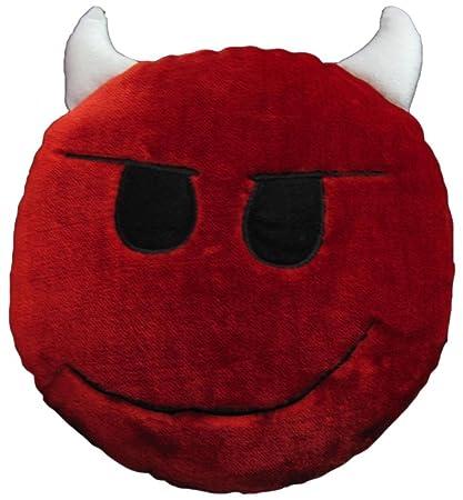 Tickles Stuffed Soft DEVIL Smiley Cushion Toy Pillow Car 33 cm