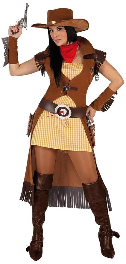 Atosa - Disfraz de vaca para mujer, talla 42-44 (5900): Amazon.es ...