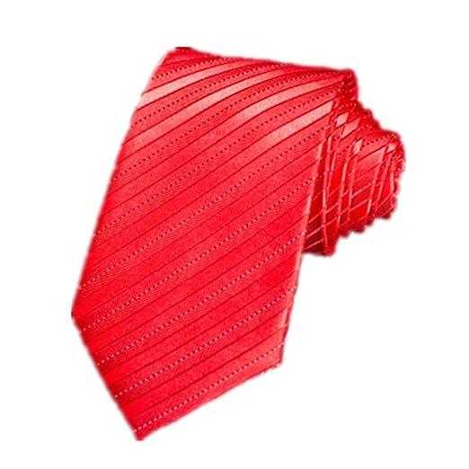 Zhongsufei Corbata Casual de Negocios para Hombre Corbata de ...