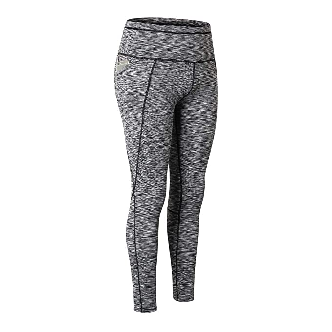 566472abdcd28 Image Unavailable. Image not available for. Color: PKAWAY Tummy Control  Power Stretch Workout Yoga Leggings 2XL