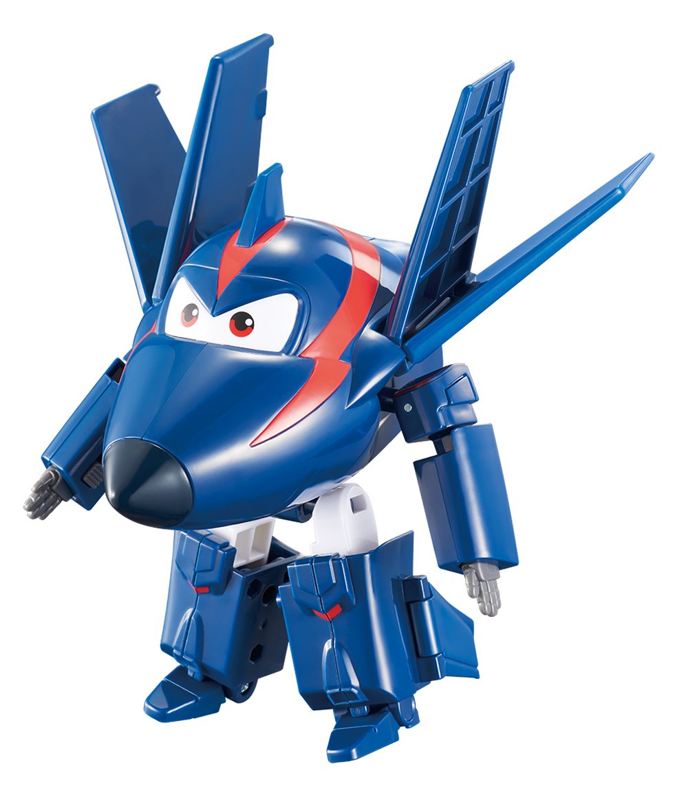 """Super Wings Transforming Agent Chase 5"""" Scale"""