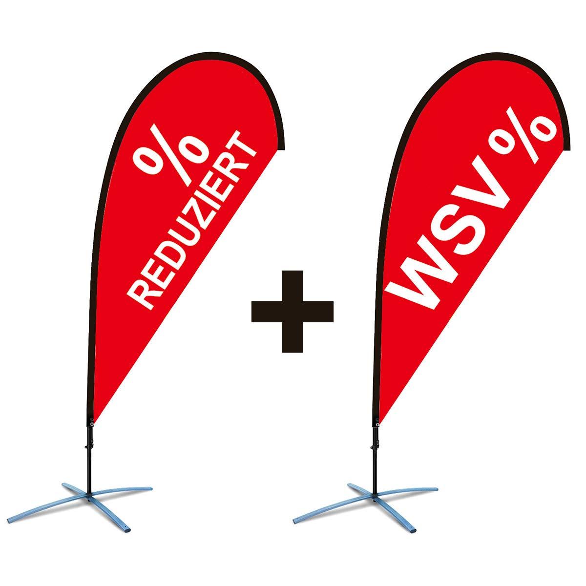 Beachflag WSV + Beachflag REDUZIERT