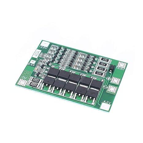 4S 40A Li-Ion batería de Litio 18650 Cargador PCB BMS Placa ...