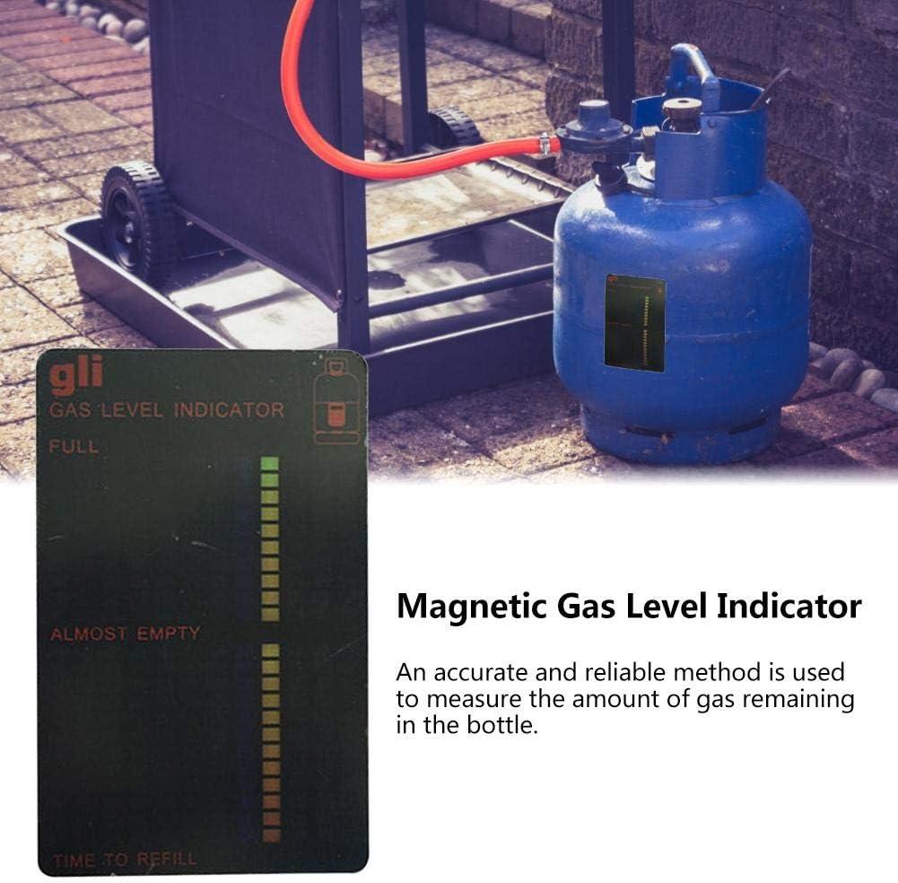 Blentude Magnetische F/üllstandsanzeige f/ür Propan-Butan-Kraftstofftank Flaschenf/üllstandsanzeige