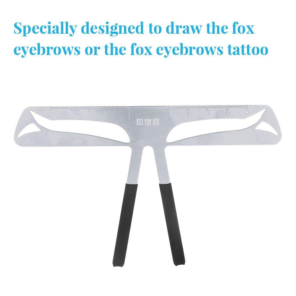 Amazon Filfeel Eyebrow Ruler Professional Eyebrow Measure