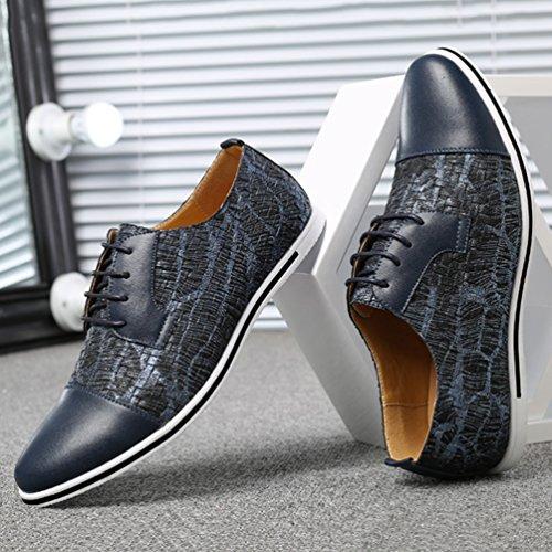 Azul Zapatos Feidaeu Hombre Feidaeu Zapatos 1vWgTcnF