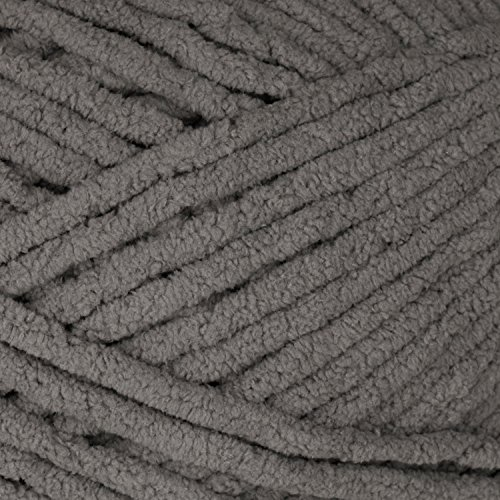 Bernat Blanket Big Ball Yarn , Dark Grey