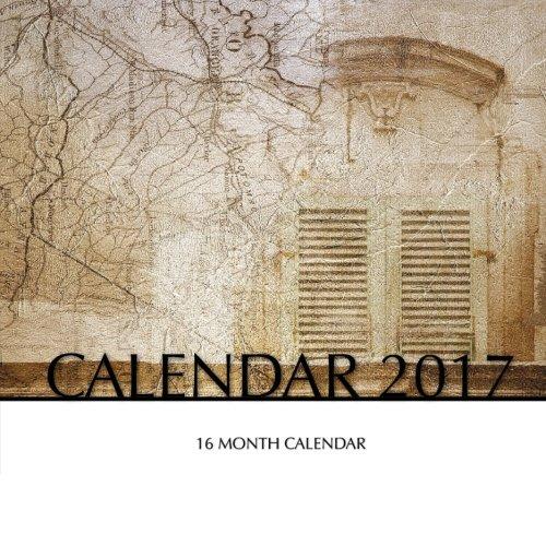 Ancient Maps Calendar 2017: 16 Month Calendar