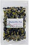 バタフライピー Butterfly Pea Tea タイ花茶 アンチャン 青いハーブティー 25g 蝶豆花茶