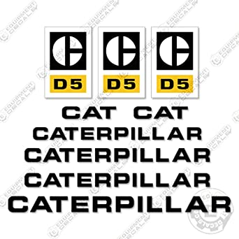 Amazon com: Caterpillar D5 Decal Kit Dozer: Industrial