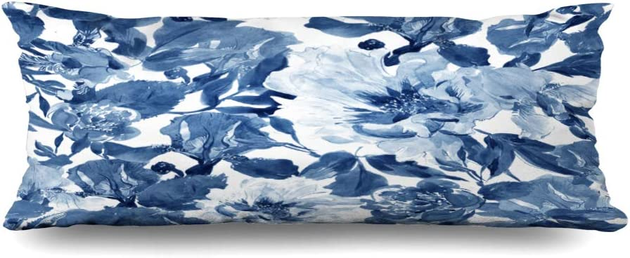 Body Pillows Cover 20x60 Inches Flower