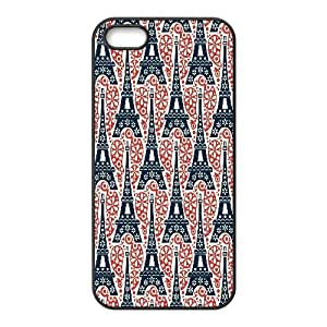 IPhone 5,5S Cases Eiffel Tower Pattern For Teen Girls Protective, Case For Iphone 5s Cheap For Teen Girls Protective [Black]