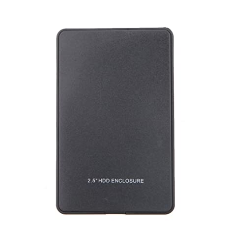 Hillrong - Carcasa Externa para Disco Duro (6,35 cm, USB 2.0, IDE, HDD)