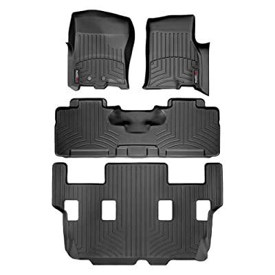 2011 Ford Expedition - WeatherTech - FloorLiner - Front & Rear