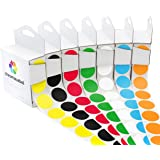 """1"""" Assorted Color-Code Sticker Dot Variety Kit 