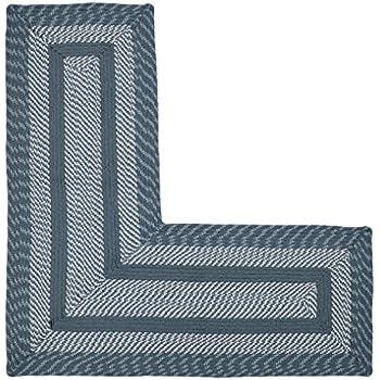 Amazon.com: Berber Textured L-Shaped Corner Runner Rug