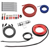 ROCKRIX True 4 Gauge Complete AMP Wiring Kit Amplifier Installation Helps You Make Connections and Brings Power to Your Car S