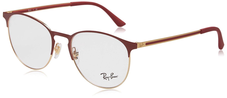 de6aa31d1aa Amazon.com  Ray-Ban 0rx6375 No Polarization Round Prescription Eyewear Frame  Top on Matte Black