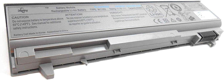 Dentsing 11.1V 60Wh W1193Laptop Battery Compatible with Dell Latitude E6400 E6410 E6500 E6510 Precision M2400 M4400 M4500 E6400 Series Notebook PP27L BT434 PT434 NM631 ND8CG